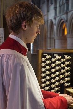 Junior Organ Scholar